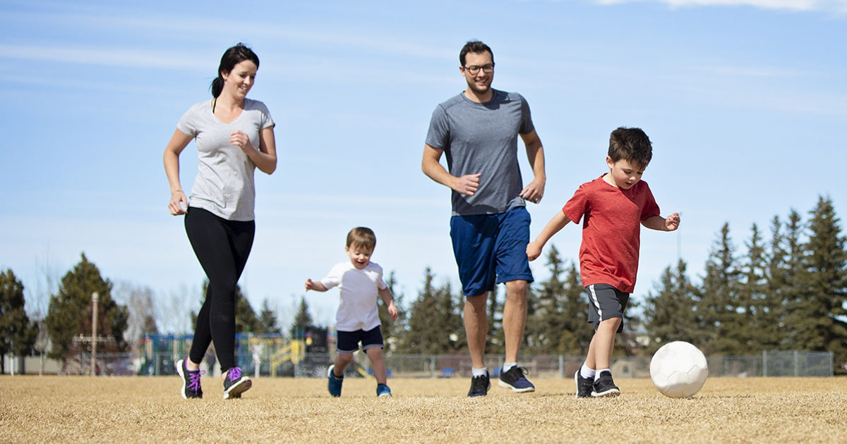 Get back into soccer shape: Tips for you & your kids
